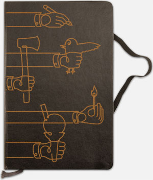 New Engraved Moleskine Designs
