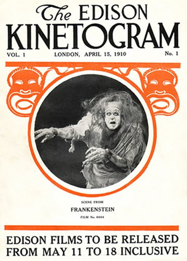 Frankenstein - This is Edison's COMPLETE 1910 silent Frankenstein film