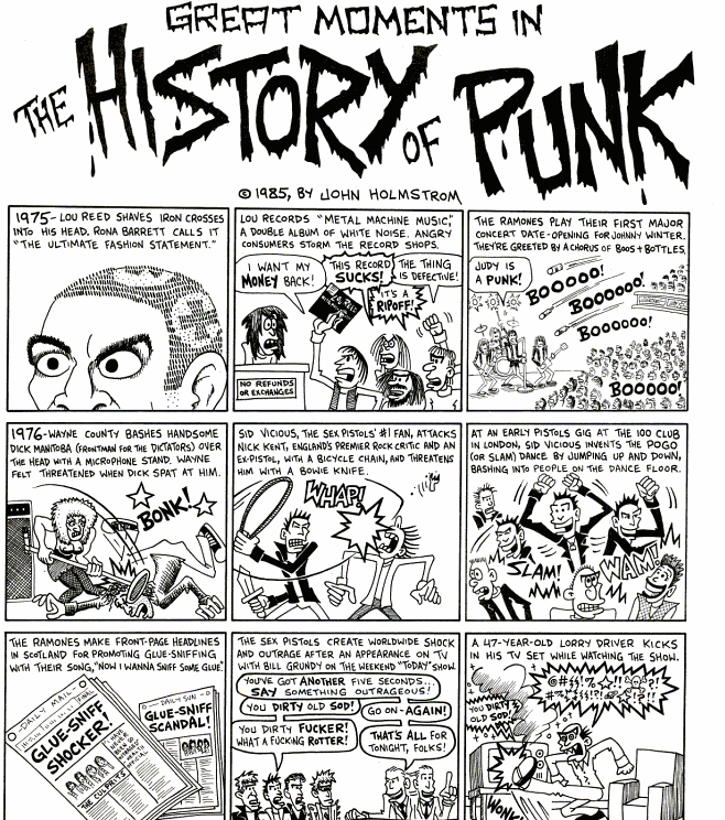 John Holmstrom - The Great History of Punk
