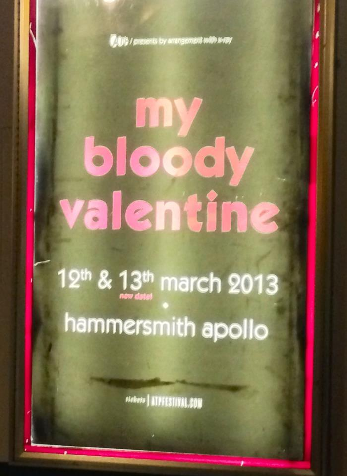 My Bloody Valentine - Live in London, March 13th 2013 @ Hammersmith Apollo