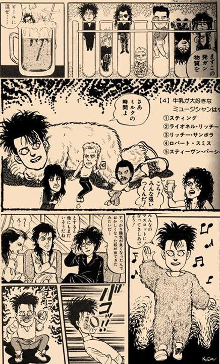 Robert Smith - Manga