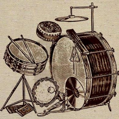 Vintage drum kits - from the 1920s and 1930s